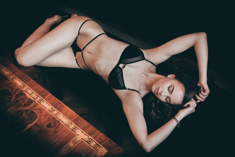 photo femme boudoir