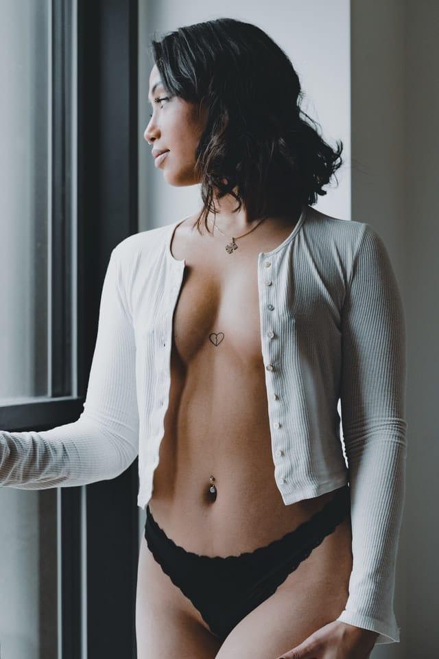 belle photo de femme boudoir